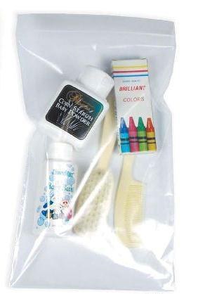 Dukal Zip Closure Bag DawnMist 6 X 9 Inch, Plastic Clear ZIP69
