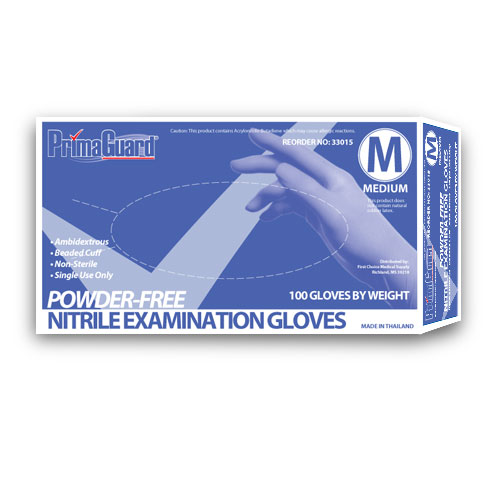 Powder-Free Nitrile Exam Gloves