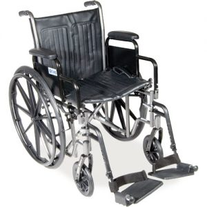 "18"" Silver Sport 2 - Dual Axle Wheelchair"