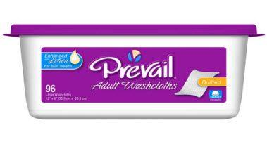 """Prevail Washcloths, Premium, 8""""x12"""""""
