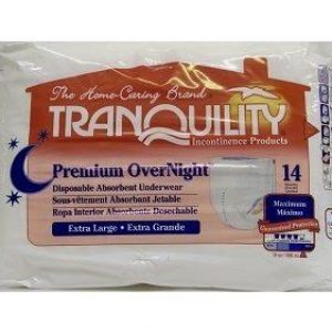 Tranquility Premium OverNight Disposable Underwear (Small)