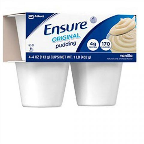 Ensure Pudding Vanilla 4oz Cup