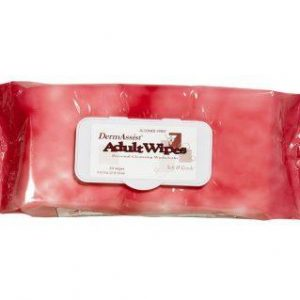 DermAssist Adult Dimethicone Wipes Washcloth, Softpack