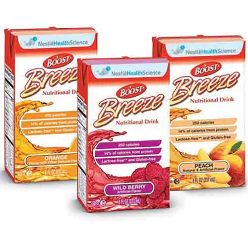 Boost Breeze Variety pack - Nutritional Drink