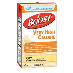 Boost VHC - Vanilla - Nestle Very High Calorie Drink