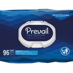 Prevail Pre-moistened Washcloths, mabango, Soft Pack na may Press Open Lid