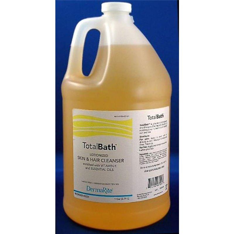 TotalBath Shampoo and Body Wash, 1 Gallon Jug, Scented