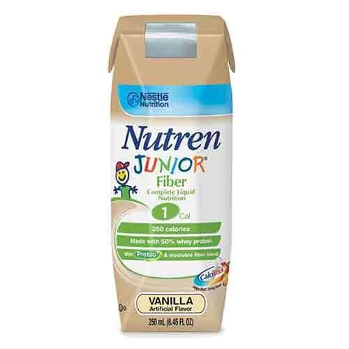 Nutren Junior Fiber added, 250ml tetra, nutritional liquid 9871616063