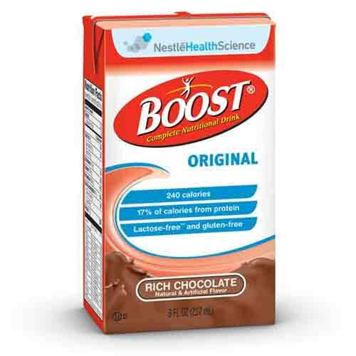 Palakasin ang Chocolate ni Nestle - 8oz Tetra Brik - Orihinal na Nutritional Drink - 4390067538
