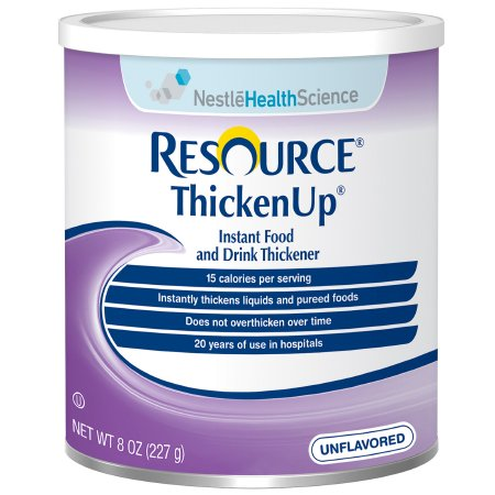 Resource ThickenUp Powder by Nestle - 8oz Canister - Food and Beverage Thickener - 22510000
