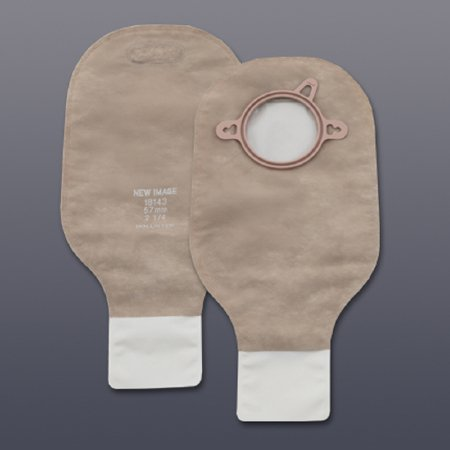 "New Image 12"" Colostomy Pouch with 2-1/4"" Flange"