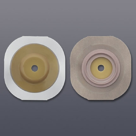 """New Image Convex FlexWear Trim to Fit Colostomy Barrier with 2-1/4"""" Flange"""
