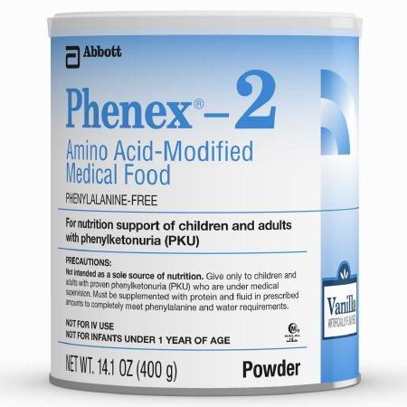 Phenex-2 14.1 oz. Vanilla Powder Oral Supplement