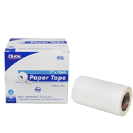 "3""X 10 yds Paper Medical Tape"