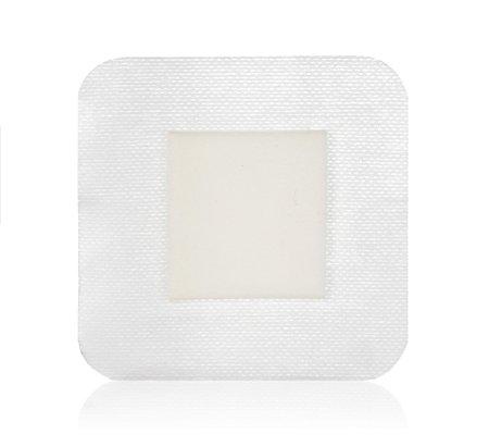 4X4 Inch Square Bordered Foam Dressing