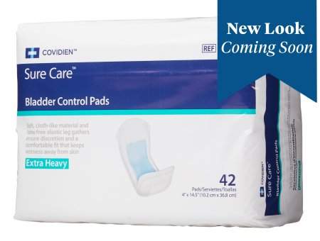 Sure Care 4X14-1/2 Inch Disposable One Size Fits Most Bladder Control Pad