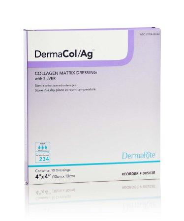 4X4 Inch Collagen Matrix Dressing with Silver