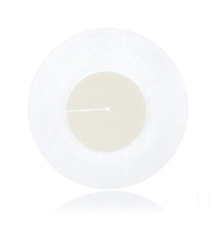Round 4 Inch Diameter Adhesive Border Foam Dressing