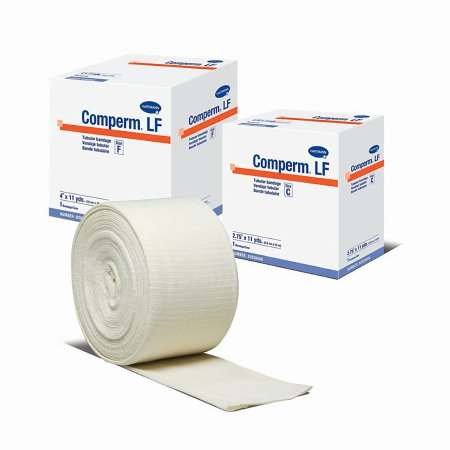 "Comperm 4""X11 yd Tubular Support Bandage Size: F"