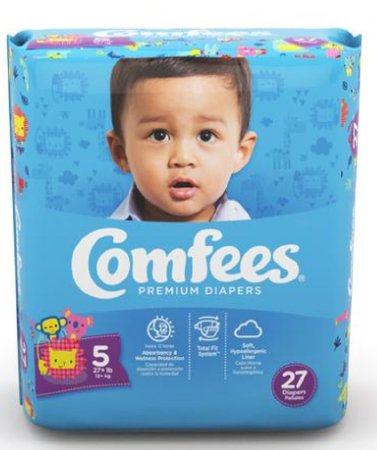 Comfees Baby Diapers Size 5 CMF-5