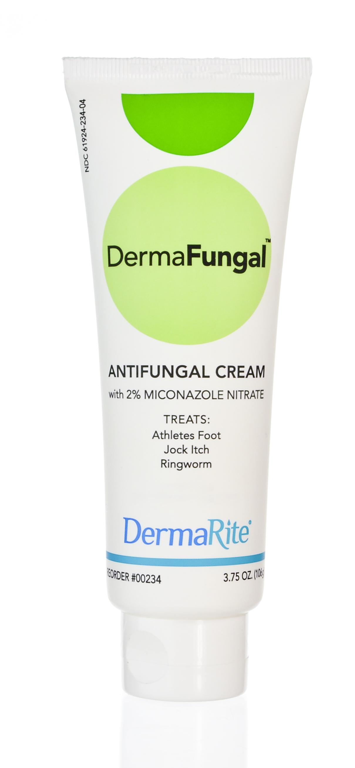 DermaFungal 2% Strength Antifungal Cream, 3.75 oz. Tube