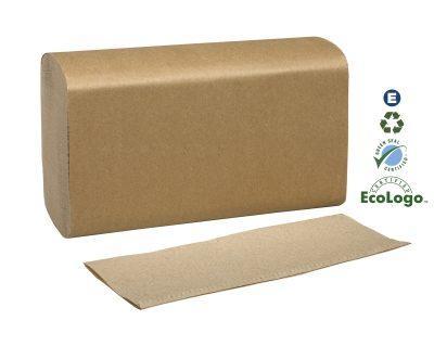 Universal Hand Towel Multi-Fold Brown 250's MK518A
