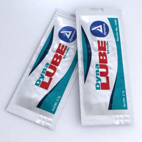Dukal Lubricating Jelly 2.7gm Packet, Sterile 877