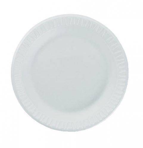 """Concorde, Foam Plate, 9"""", WHITE"""