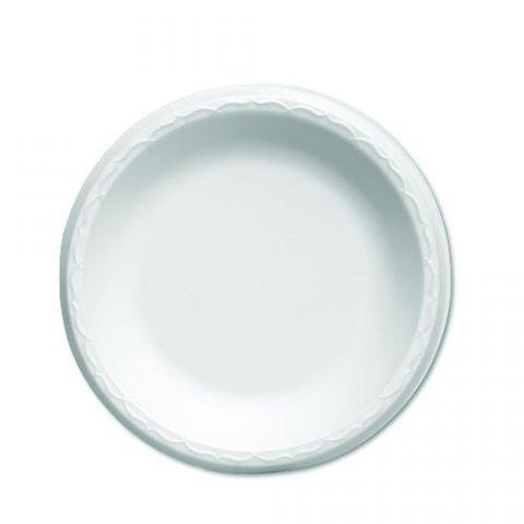 Foam Plates, Celebrity Foam Dinnerware White. Plates 6-in. 1000 ct. 80600
