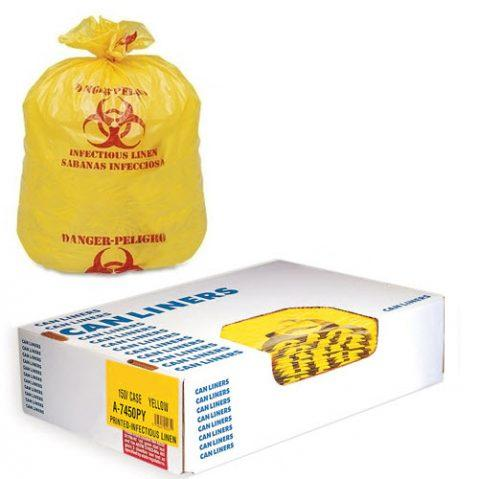 Liners LD Style 40x47 # 1.25mil Yellow Roll LN200
