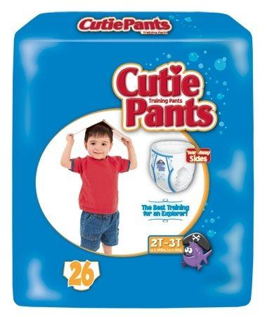 Cuties Boy Training Pants, 2T/3T up to 34lbs CR7007