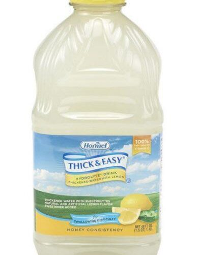 Thick and Easy Thickened Hydrolyte Honey 48oz 6ea/cs