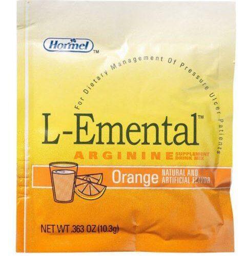 L-EMENTAL Arginaid Orange Flavored Powder