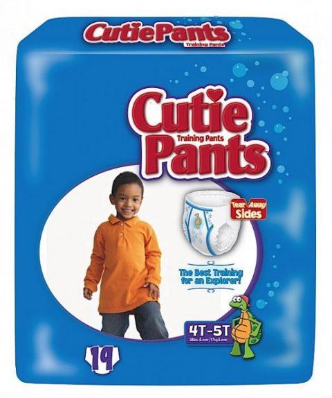 Cuties Boy Training Pants, 4T/5T 38+ lbs CR9007
