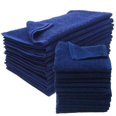 "100% Cotton Hand Towel, 3.0 LB, 16""x 27"" (BLUE) 1627BLU"