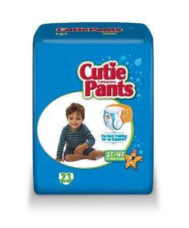 Cuties Boy Training Pants, 3T/4T 32-40lbs CR8007