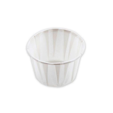 Cups, Souffle, Paper, Portion Cups, .75oz