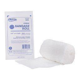 "Dukal Kerlix Type, Fluff Bandage Rolls, Non-Sterile, 4.5""x 4.1yd PCGF44N"