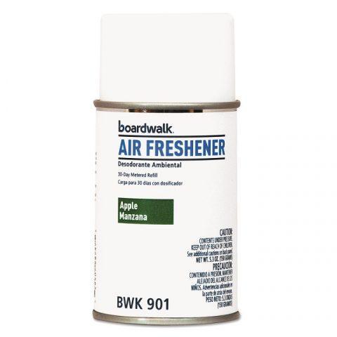 Air Freshener Metered, Aerosol Refill Can, Apple Scent, 5.3oz BWK901