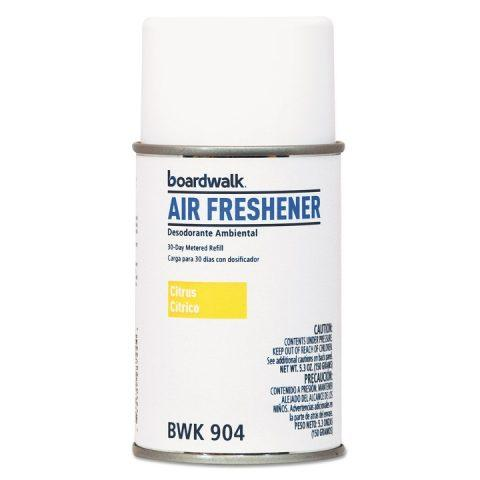 Air Freshener Metered, Aerosol Refill Can, Citrus Scent, 5.3oz BWK904