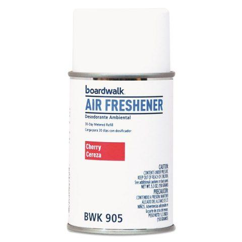 Air Freshener Metered, Aerosol Refill Can, Cherry Scent, 5.3oz BWK905