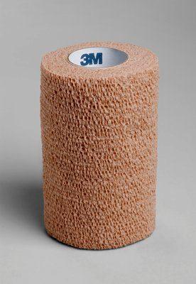 "Dukal Cohesive Self Adherent Wrap Bandage Tan 4""x 5yds 8045T"