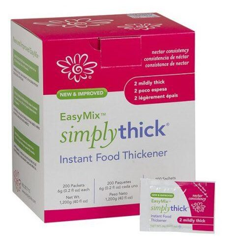 SimplyThick Easy Mix Thickener Gel (6g Packet) STIND200L2
