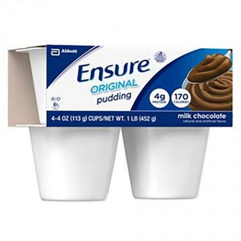 Ensure Pudding Chocolate 4oz Cup 54846
