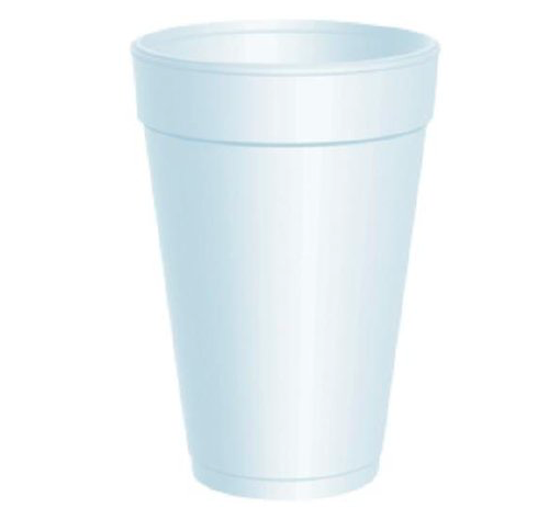 Cups, Foam, 16oz.