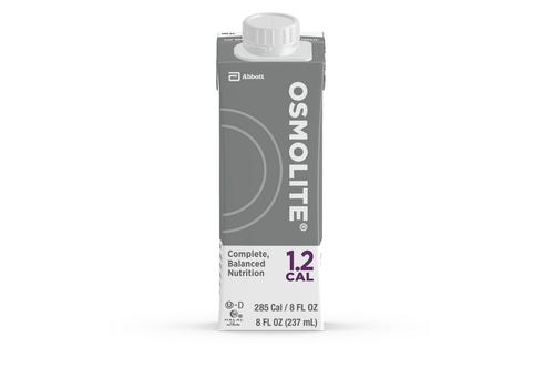 Osmolite 1.2 Cal 8oz. G Tube Feeding Formula, Abbott Reclosable Container, 64635