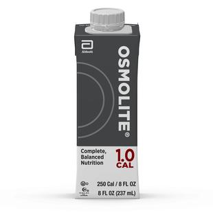 Osmolite 1.0 Cal 8oz. G Tube Feeding Formula, Abbott Reclosable Container, 64633