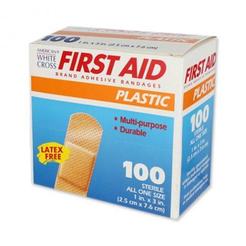 """1"""" X 3"""" Plastic Band Aids"""