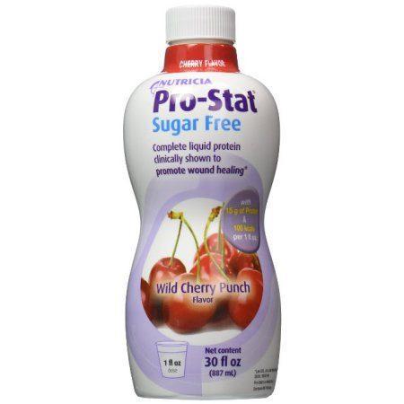 Pro-Stat Protein Supplement Sugar Free Wild Cherry 30oz Ready to Use Bottle