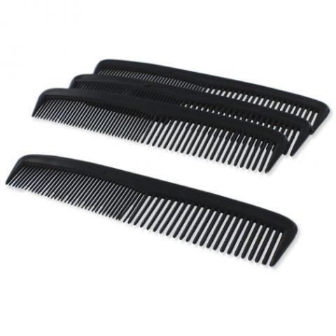 """Dukal Combs, Mens 5"""", Black DC5"""
